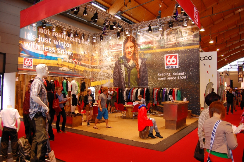 66° North Messestand