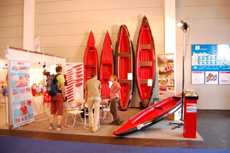 Grabner Luftboote - robust und klein im Packmaß