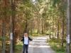 "Eingang zum Naturcampingplatz \""Hätteboda Vildmarkscamping\"""