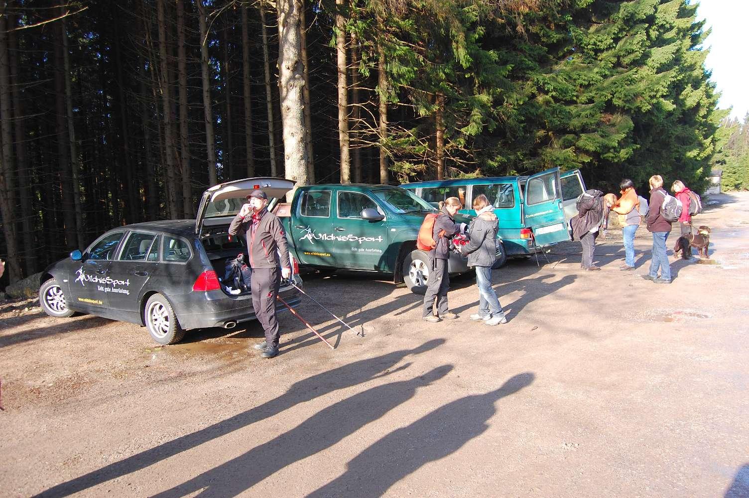 Wildnissport Sammelpunkt in Schierke