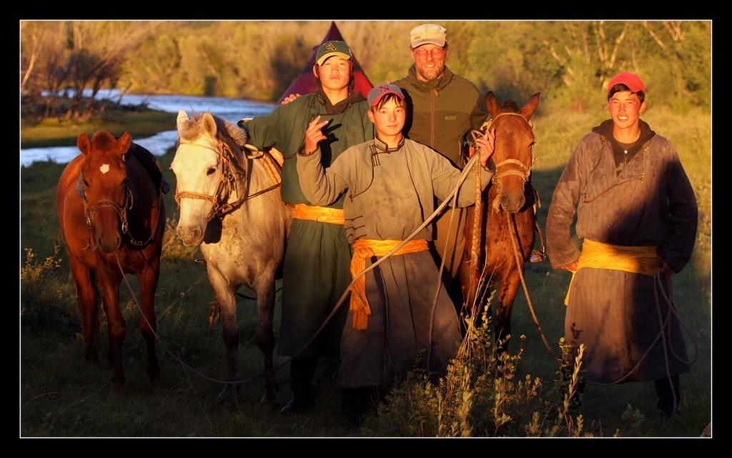 Mit dem Kanu durch die Mongolei