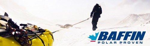 Baffin Winterschuhe / Polarstiefel bei extremer Kälte auf Expeditionen genau richtig!