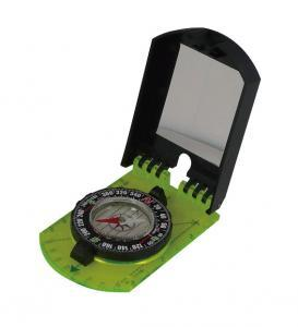 AceCamp Folding Map Compass with mirror