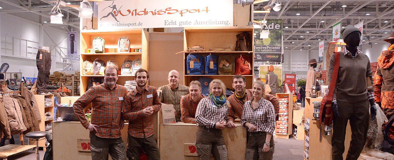 Wildnissport Team powered by Fjäll Räven auf der Pferd und Jagd in Hannover