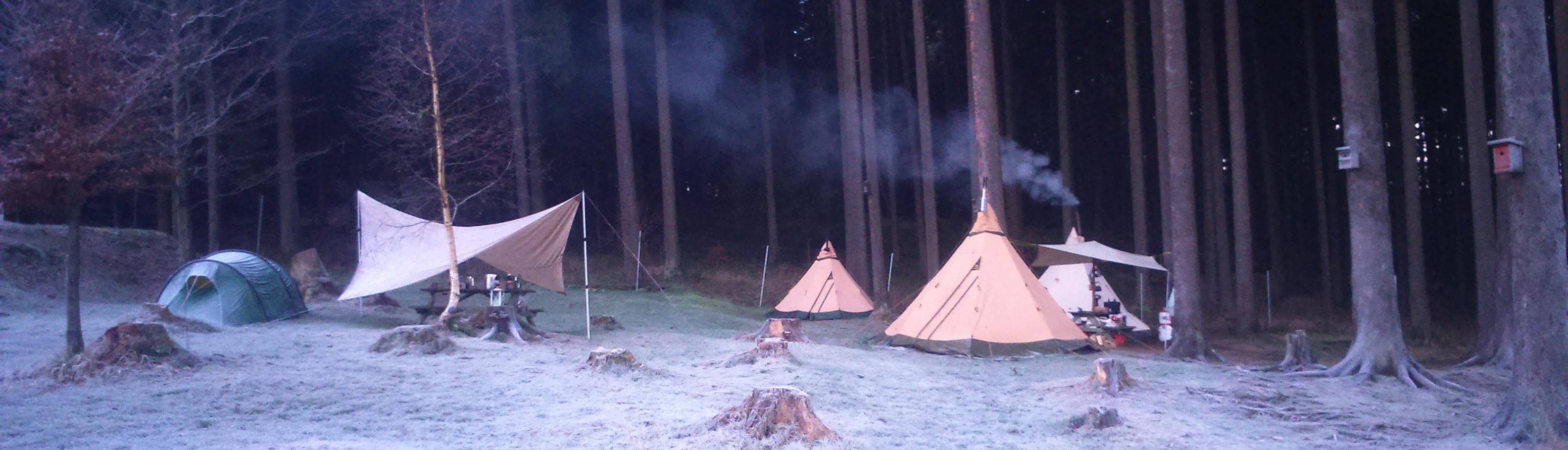 Sylvester Camp bei Harz-camping.de im Harz