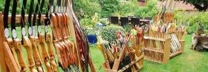 Große Auswahl an Pfeil und Bogen im Wildnissport Shop
