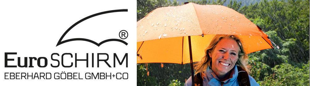 Trekking Regenschirm vom Spezialisten - leicht, robust und multifunktional