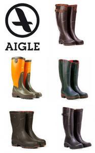 AIGLE Parcours 2 Gummistiefel - mad in France