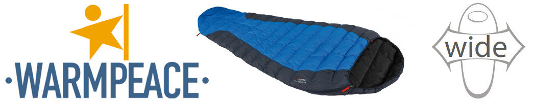 Hochwertige Daunenschlafsäcke mit sehr gutem Gewichtsverhältnis
