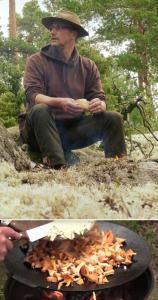Beides unverzichtbar: Chefkoch und Grillschale :-)