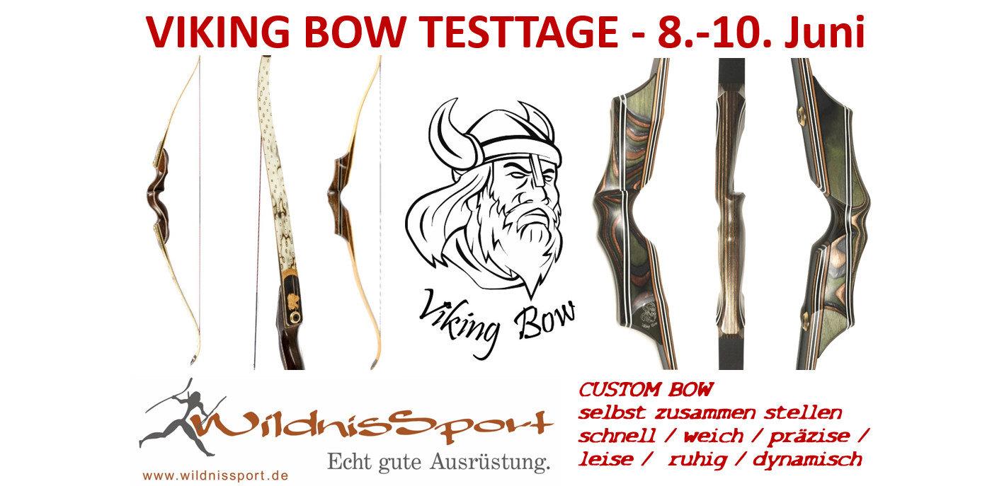 Probe schiessen und Deinen eingenen Custom Bow zusammen stellen!