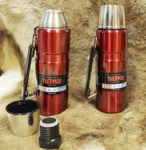 2 Stück Original Thermosflasche in FB-Verlosung bei Wildnissport