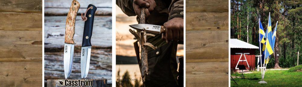 Casström Messerhersteller aus Schweden mit großer internationaler Beachtung