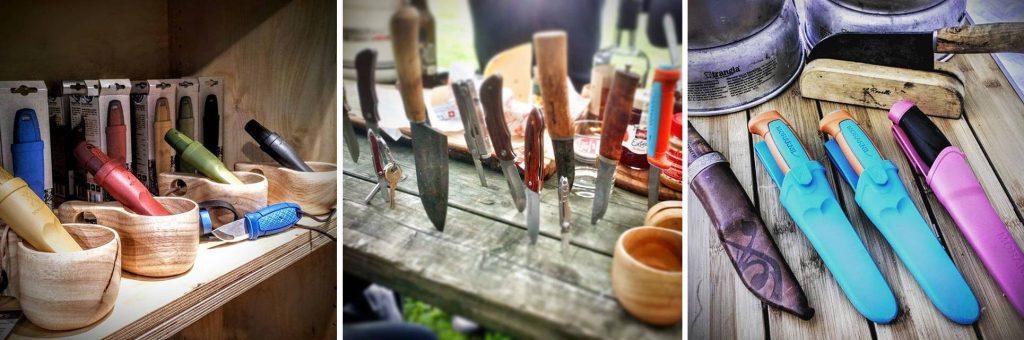 Hochwertige Outdoormesser/ Jagdmesser aus Schweden, Finnland und Norwegen